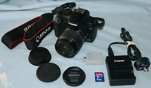 Canon EOS 1000D DSLR Camera, Canon Zoom Lens EF-S 18-55mm 1:3.5-5.6 IS 4GB SD