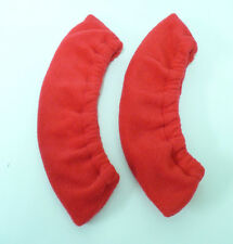 RED POLAR FLEECE BLADE COVERS - SOAKERS