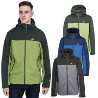 Trespass Mens Softshell Jacket Water Resistant Windproof Outdoor Coat Palin