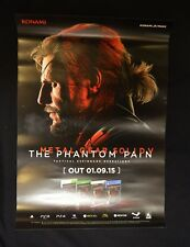 Metal Gear Solid V The Phantom Pain-Oficial Raro Cartel Promo A2 (no es un juego)
