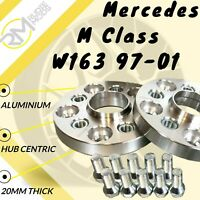 97-05 W163 Locking Wheel Bolts 14x1.5 Nuts Tapered for Mercedes M-Class ML