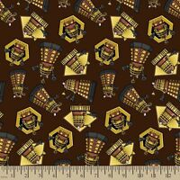 Bbc Doctor Who Exterminate 100% cotton fabric by the yard