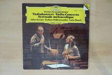 "Gidon Kremer Autogramm signed LP-Cover ""Violinkonzert"" Vinyl"