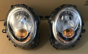 R55 R56 R57 Mini Cooper S One Clubman Coupe & Cabrio Complete Halogen Headlights