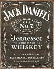 Weathered Jack Daniels LICENSED TIN SIGN REPRODUCTION bar wall decor 1916