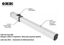 GIBIDI TOP 441 SLA-BA operatore oleodinamico per ante fino a 6 metri ref. 44204