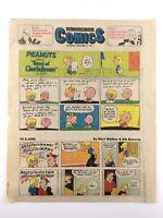 1977 Peanuts Hi Lois Shoe Inside Woody Allen Better Half Newspaper Comics N024