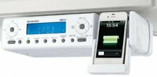 Silvercrest Under Cupboard Kitchen FM Radio iPod iPhone Connection & Remote AUX