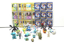 Very Cool Pokemon 150+ Card w/Sleeves+Figure Lot  2000 - 2012 Vintage Fun Group
