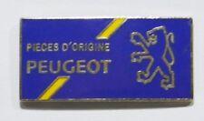 PINS AUTO PEUGEOT PIECES D ORIGINE 3 CM ( BLEU)