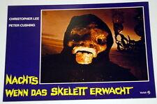 Peter Cushing NACHTS WENN DAS SKELETT ERWACHT original Kino Aushangfoto # 5