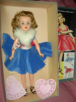 "Gorgeous Ideal MISS REVLON twist waist 20"" doll MIB ""Queen of Diamonds"" &jewelry"