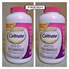 640.  Caltrate 600mg + D3 Calcium & D3 Supplement  2 x 320 tab ( NO SALES TAX )