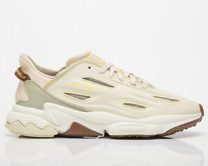 adidas Originals Ozweego Celox Men's Sand Halo Green Off White Lifestyle Shoes