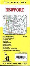 City Street Map of Newport, Rhode Island, by GMJ Maps