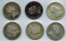 Canada Edward VII 10 Cents  1902 1903H 1904 Scarce  1906 1907 1910 Silver Dimes