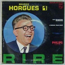 Maurice Horgues 45 tours Les invasions barbares