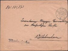 GERMANY, 1916. Feldpost Cover Marine Schiffspost No.104, S.M.S. Berlin
