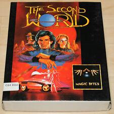 Magic byte the Second World dischetto Boxed Commodore 64 testato c64