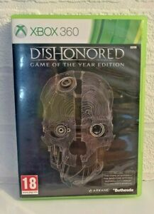 Dishonored Game of the Year Edition (Xbox 360) with Manual