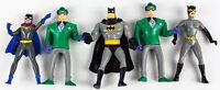 1993 Kenner Batman Animated Series Batman, Joker x 2, Catwoman & Batgirl | LOOSE