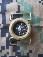 BURLY CAMMENGA BRASS WATCH COMPASS - MODEL WC10 - 100M - USA MADE - JULY 2019