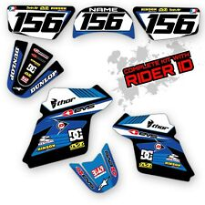 PW 80 1990 - 2015 GRAPHICS KIT YAMAHA PW80 MOTOCROSS DIRT BIKE MOTO DECALS
