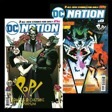 DC NATION #0 Pop Comics EXCLUSIVE + 1:250 BATMAN Clay Mann VARIANT DC Comics NM!
