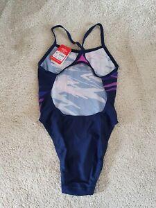 Speedo Racing Back Swimming Costume Size 12