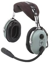 David Clark Model H10-13.4 Aviation Headset - GA/Dual Plugs - 40411G-01