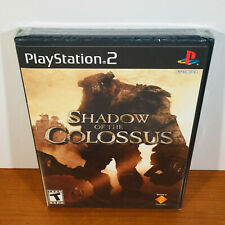 Shadow of the Colossus (PS2) Rare 1st Print! Black Label! Sealed. Near-Mint!
