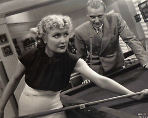 "Miriam Hopkins ~Shooting Pool~Playing Pool~Billiards~Poster~16"" x 20"" Photo"