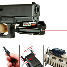 Mini Red Dot Laser Sight + 20mm Picatinny Rail for Pistol Gun with Remote