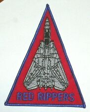 TOMCAT F-14  RED RIPPERS PATCH