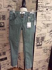 Jolt Green/Black print pants, Size 1 New!