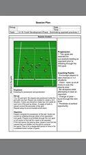 CALCIO/calcio 30 12-16 anni della gioventù sessioni di fase di sviluppo Coaching