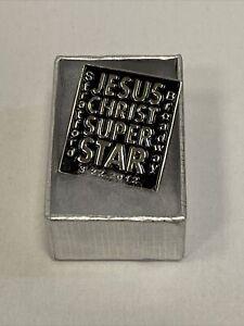 JESUS CHRIST SUPERSTAR Broadway 2012 Revival OPENING NIGHT Gift ENAMEL LAPEL PIN