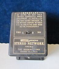 Seeburg AY100, AY160 Jukebox Stereo Network