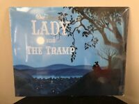 NEW DISNEY'S LADY AND THE TRAMP LITHOGRAPH SET