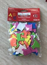 New Creatology- Foam Stickers Letters 104 Pieces