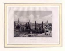 Herford - Stahlstich 1872