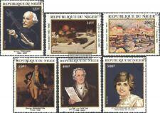 Níger 784-789 (edición completa) usado 1982 aniversarios