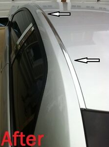 For 1991-1995 ACURA LEGEND CHROME ROOF TOP TRIM MOLDING KIT
