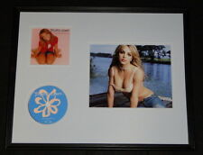 Britney Spears Framed 16x20 Baby One More Time Cd & Photo Display