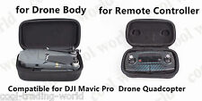 Hardshell Box Remote Controller bag+ Body Fuselage case for DJI MAVIC Pro Drone