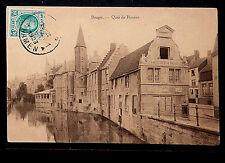 BELGIE 302.-BRUGES -1923 Quai du Rosaire