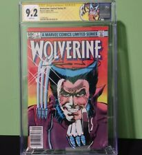 Wolverine Limited Series #1 (1982) CGC 9.2 NM- Signed by Frank Miller Marvel