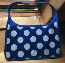 Lovely Blue & White Polka Dot IKEA sac de rangement/cabas