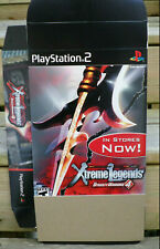 Dynasty Warriors 4: Xtreme Legends Jumbo PS2 Display Box (NOT A Game) Promo