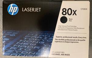 HP 80X Black Original LaserJet Toner Cartridge CF280X - Brand New in Sealed Box